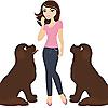 My Brown Newfies - Blog