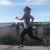 Crazy Running Girl by Lora