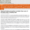 Blog About Healthcare | Medical topics relating to Healthcare & Medicine in the UK