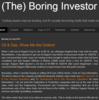 The Boring Investor