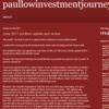 Paullow Investment Journey