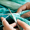 Knitting womens Work