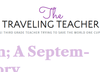 The Traveling Teacher