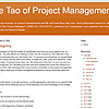 The Tao of Project Management