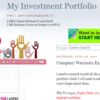 GHCHUA - My Investment Portfolio