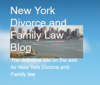New York Divorce and Family Law Blog