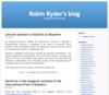 Robin Ryder's blog | Statistics and other stuff