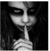 Creepy Silence Baby