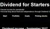 Dividend for Starters
