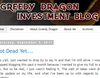 Greedy Dragon Investment Blog