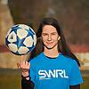 Lucia Kevická   football freestyler