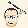 Mr. Schuette 's   ART CLASS