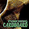 Punching Cardboard
