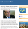 Latin American Affairs