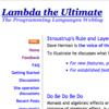 Lambda the Ultimate - Programming Languages Weblog