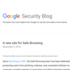 Google Online Security Blog