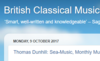 British Classical Music: The Land of Lost Content